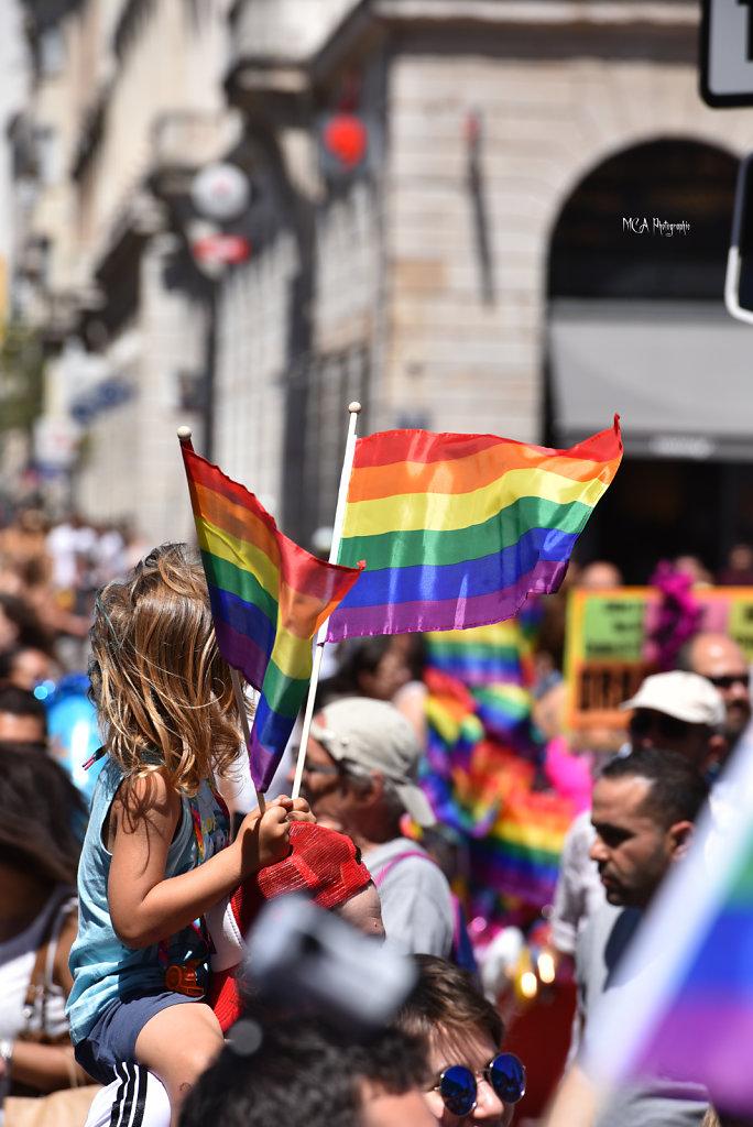 La Marche des Fiertés LGBT